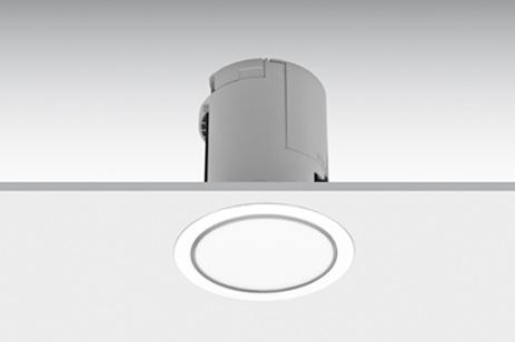 Daisalux apparecchi dilluminazione demergenza lens a filo con