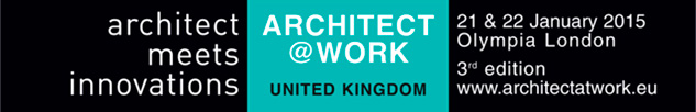 Daisalux at ARCHITECT@WORK London 2015 : Daisalux will be present at the exclusive fair trade ARCHITECT@WORK, to be held in London on Wednesday 21 and Thursday 22 January 2015.
