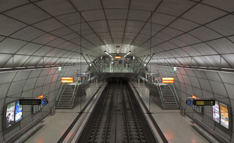 Subway of Bilbao Vías estación